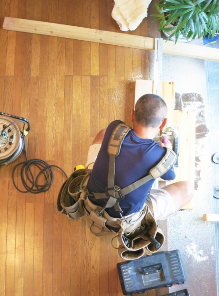新築住宅の床フローリングのお手入れ!ハードコーティングは不要です。
